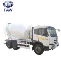 Quality Small Self - Loading Concrete Mixer Truck JIEFANG FAW J5M 4*2 6*4 for sale