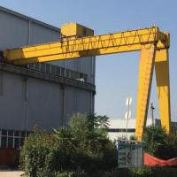 Quality 50 Ton Electric Overhead Crane / Electric Semi Gantry Crane 30m Lifting Height for sale