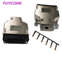 Quality 180 Degree Plastic Housing V.35 Router Connector Male Crimping Type for sale