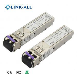 Quality DWDM 1270NM~1610NM 2.5G 40KM/ER Optical Transceiver With LC Port for sale