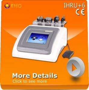 Quality IHRU+6 multifunctional rf cavitation vacuum machine for sale