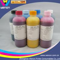 Quality 6 color pigment ink for HP5000 HP5500 inkjet printer pigment ink for sale