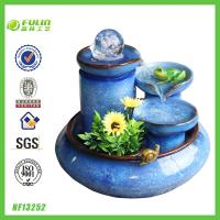 Quality Fengshui Resin Decorative Water Fountain for sale