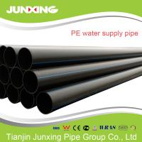 Quality 110mm PN20 SDR9 HDPE water pipe ISO4427 standard water pipe hdpe for sale