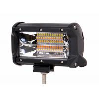 Buy cheap Flood / SPOT Beam Automotive LED Light Bar 72W 6063 Stainless Steel Black from wholesalers