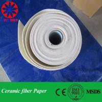 Quality 1400C Ceramic Fiber Paper for Refractory for sale