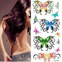 Quality Naked Woman Temporary Tattoo Sticker for sale