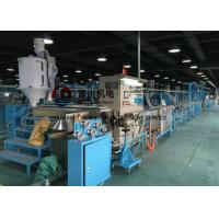 China Cable Extrusion Machine For Power Wire Insulated Sheathing Wire Dia 0.8-8mm on sale