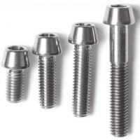 Quality DIN titanium screws /bolts and nuts/wheels bolts titanium ti 6al 4v/motorcycle equip for sale