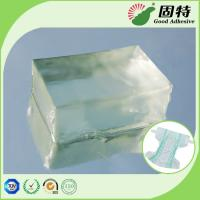 Quality Light Transparent Block Baby Diaper Industrial PSA Hot Melt Adhesivenapkin, baby paper diaper and sanitary mat. for sale