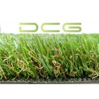Buy cheap Dark Green Natural Looking Artificial Grass S Shape 11000 Dtex UV Resistant Good from wholesalers