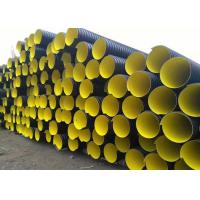 Quality hdpe double wall corrugated pipe prices DN200mm to DN800mm for sale