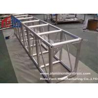 Quality Light Weight Aluminum Stage Truss , Square Lighting Truss Bar For Rental Event for sale