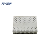 Quality Small Form Factor Pluggable 240 Pin Press Fit EMI SFP Connector for sale