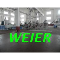 Quality WPC / PVC Plastic Pelletizing Machine , Plastic Pellet Extruder Line for sale