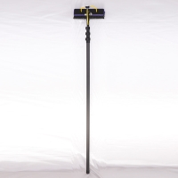 Buy cheap 12m 3k twill portable water telescopic windows cleaning pole from wholesalers