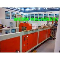 Quality Light weight  WPC PE Profile Extrusion Line -140mm x 25mm-outdoor decking extruder for sale