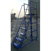 Quality Manual Picking High Climbing Ladder with Movable Wheel for sale