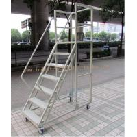 Quality Assembling High Climbing Ladder Warehouse Equipments For Shelving Rack Use for sale