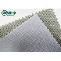 Quality 230gsm 3.5H Hand Feeling Fusible Interlining Cotton Fusing Garment Woven Rolls For Caps for sale