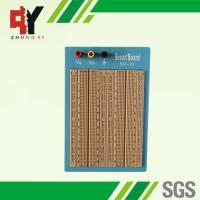 China Brown Solderless Circuit Board , Circuit Bread Board With Blue Plate on sale