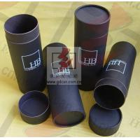 Quality Brown Cosmetic Paper Tube Packaging Recoverable Paper Cylinder Packaging for sale