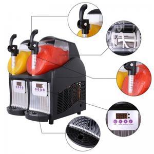 Commercial Slush Machine 2.5L Double-Bowl Slush Frozen Drink Machine WT/8613824555378