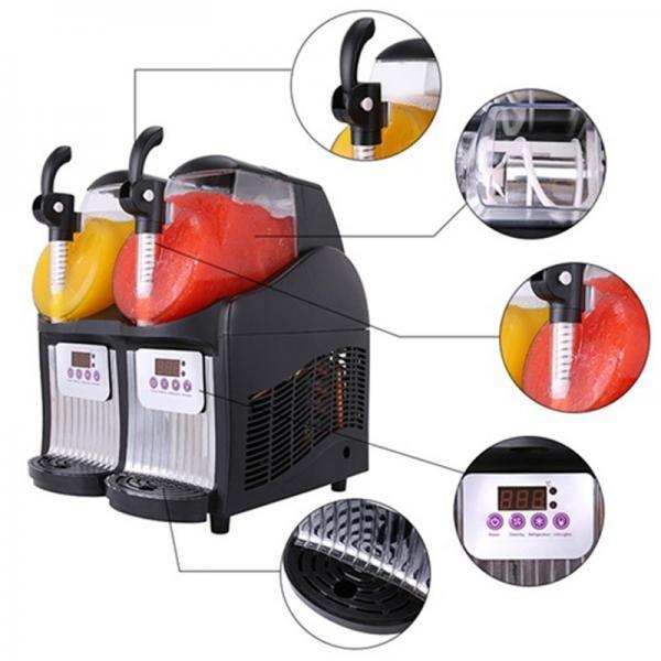 Buy Commercial Slush Machine 2.5L Double-Bowl Slush Frozen Drink Machine WT/8613824555378 at wholesale prices