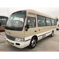 Quality KINGLONG 22 Seats Used Passenger Bus With YC Diesel Engine 2014 Year Made for sale