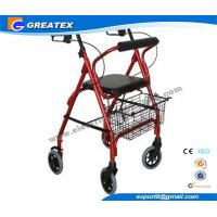 Quality Mobility Medicare lightweight folding walker with wheels , collapsible walkers for sale