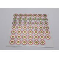 Buy cheap Business Use Laser Label Sticker Non - Toxic Strong Adhesion Color Offset from wholesalers