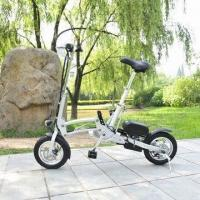 China 12-inch Folding Electric Bike/Bicycle with 200W Motor and 36V 9Ah Lithium Battery Aluminum Alloy Hub on sale