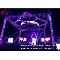Buy cheap High Loading Capacity Outdoor Aluminum Light Truss With 2 Years Warranty from wholesalers