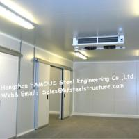 Quality Commercial Walk In Fridge / Refrigerator Units Made Of Width 950mm Pu Sandwich Panel for sale