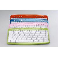 Quality PS / 2 membrane keyswitch Cordless USB Keyboard with tactile feedback WES-K-001 for sale