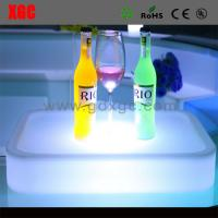 Buy cheap New Designed PE Material Luminous KTV Cocktail Plate from wholesalers