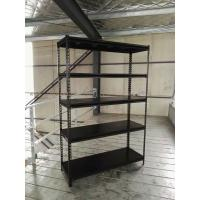 Quality Slotted Angle Steel Light Duty Shelving Black / Grey / White in Storage Systems for sale