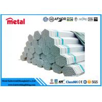 Quality High / Low Pressure Galvanized Metal Tubing , Round Welding Galvanized Pipe for sale