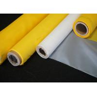 Buy cheap Plain Weave High Tension Polyester Wire Printing Mesh Screen Roll 43T-80Y White from wholesalers