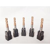 Buy cheap High Speed Steel Tungsten Carbide End Mill Cutter 4 Flute Milling Tools from wholesalers