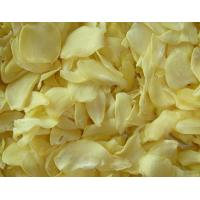Quality White Food Recipe Dehydrated Vegetables Dried Garlic Flakes SDV-GARF for sale
