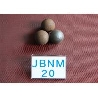 62-63HRC D20MM Mineral Processing  Grinding Steel Ball , Custom Steel Balls for Ball Mill