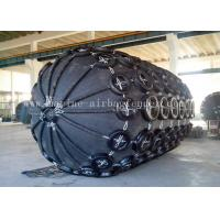 Black Gas Filled  Pneuamtic Rubber Fenders For Ship Berthing Protection