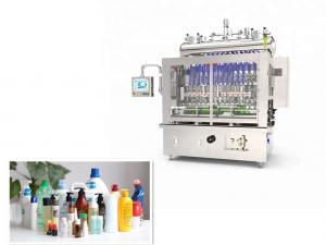 Quality 220V / 380V Cosmetic Automatic Bottle Filling Machine for sale