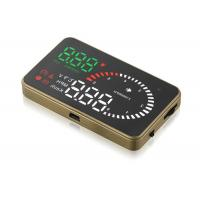 Driving Safety Bmw 6 Series Heads Up Display Projector , 3.5 Inch HD Screen Bmw X6 Head Up Display