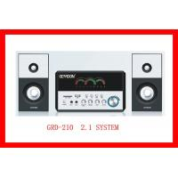 Quality Microphone+USB & SD Card Decoder 2.1 Multi-Media Speaker (GRD-210) for sale