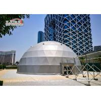 Quality Customized Design Geodesic Dome Tents For Outdoor Activities Wind Resistance for sale