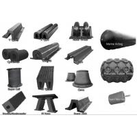 Quality French Warships Rubber Elements Marine Rubber Fender for Dock , CCS ISO 17357 for sale