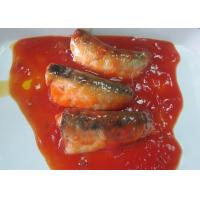 Quality NW 425g / DW 235g Canned Fish / Canned Sardines In Tomato Sauce for sale