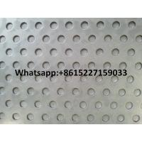 Quality perforated metal plate round hole for sale